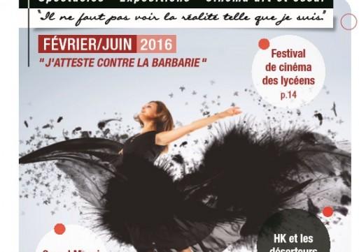 Votre Magazine de la Saison Culturelle Douchynoise de Février à Juin 2016