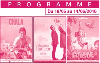 Votre programme cinéma du 18 mai au 14 juin