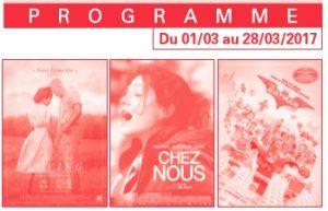 programme ciné mars