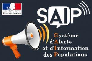 Essais sonores du Système d'Alerte et d'Information des Populations