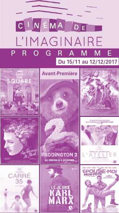 Votre programme cinéma du 15 novembre au 12 décembre
