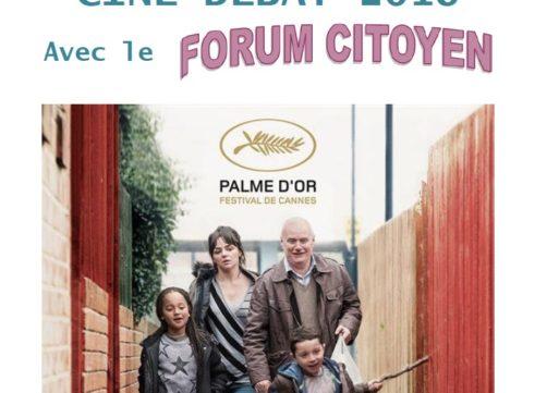 Ciné-débat avec le Forum Citoyen