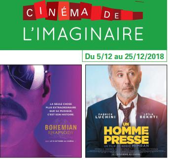 Votre programme cinéma du 5 au 25 décembre 2018