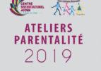 Ateliers parentalité 2019