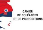 Cahiers de doléances, et prochain débat