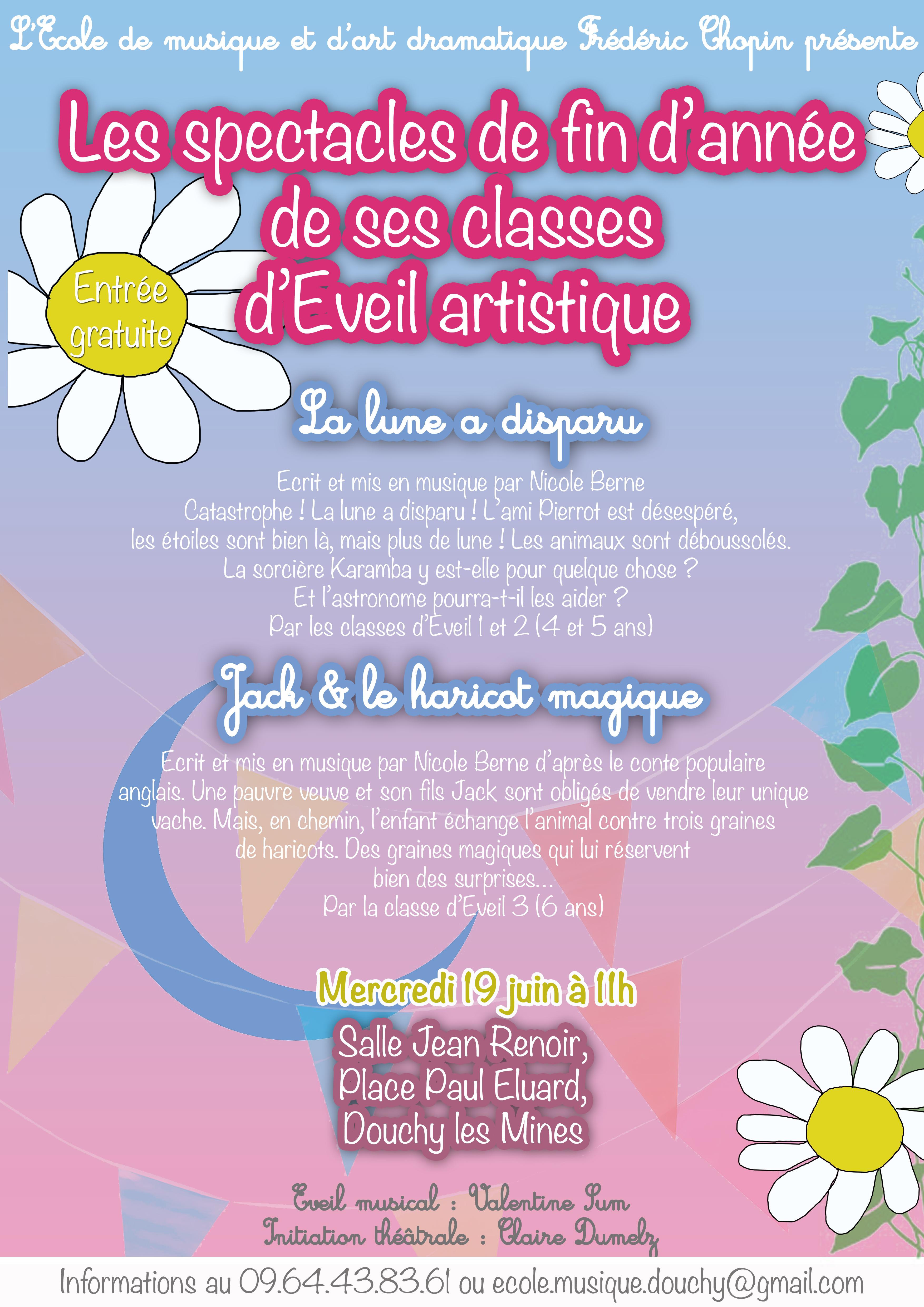 Graines Et Plantes Calendrier Lunaire Juillet 2020.Spectacles De Fin D Annee De L Ecole Frederic Chopin Ville