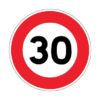 Limitation de vitesse à 30 km/h, rue Jean Jaurès