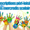 Inscriptions péri-loisirs des mercredis scolaires
