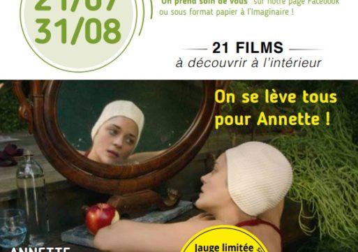 Programme cinéma du 21 juillet au 31 août