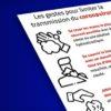 Coronavirus – les précautions